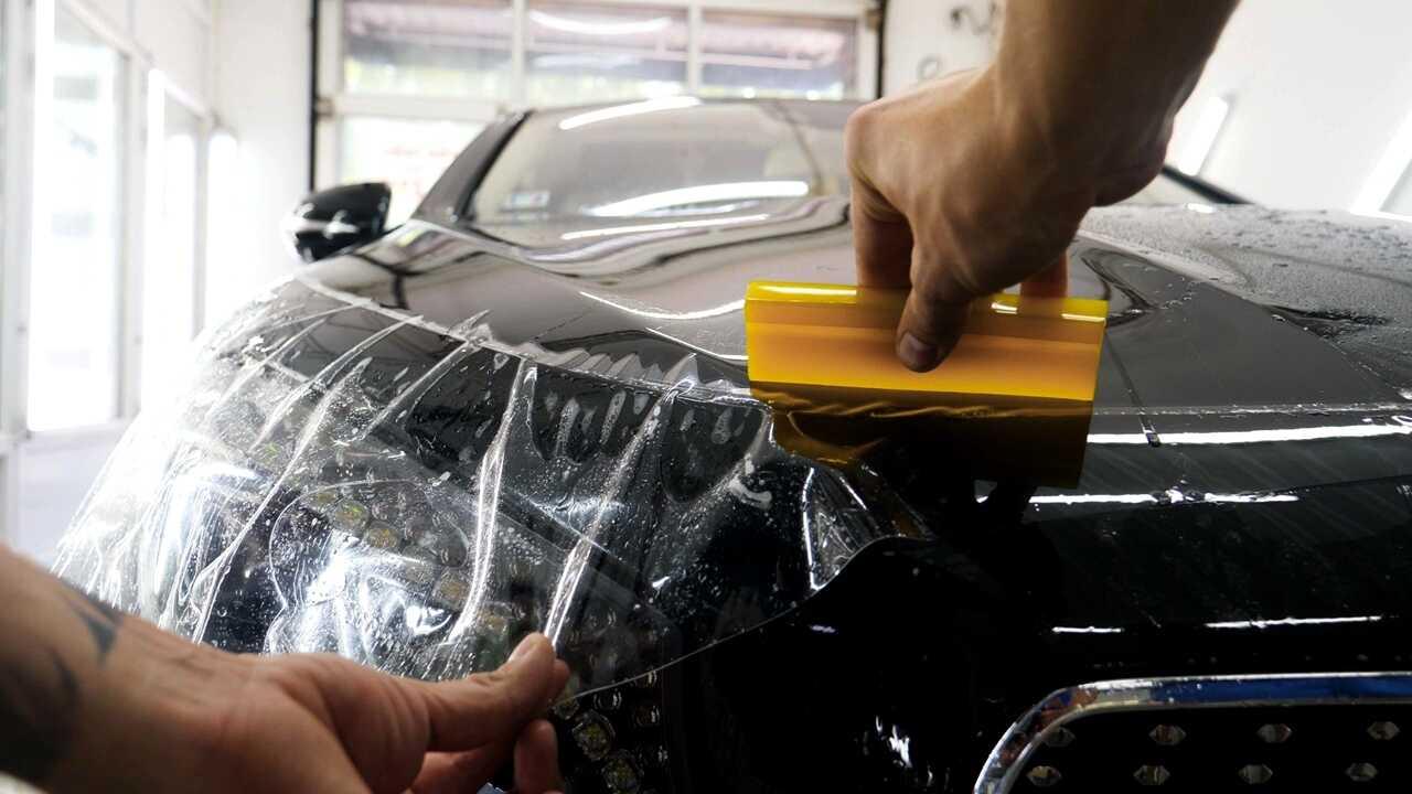 Oklejanie samochodów folią PPF